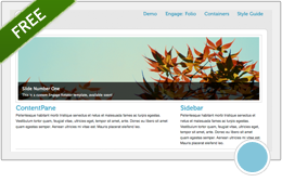 Engage: Folio a free skin package for DotNetNuKe